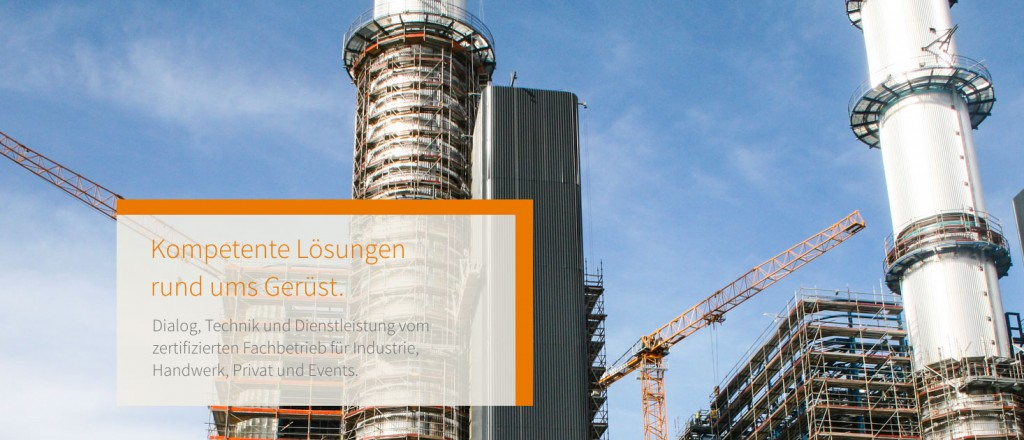 FEIG-Gerueste-GmbH - Gerueste fuer Arbeiten an Kraftwerken.