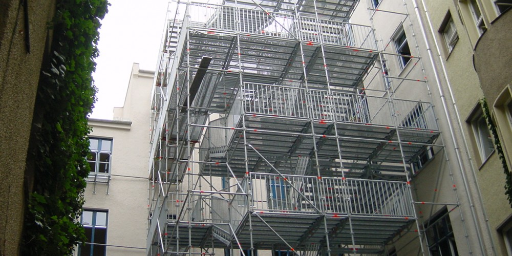 FEIG-Gerueste-GmbH - Fluchttreppenturm