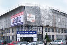 Die FEIG-Gerueste-GmbH im Auftrag der Firma Pollin.