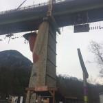 Brückenhängegerüst von der Feig Gerüste GmbH auf der Ötztalbrücke