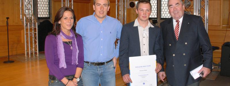Der Beste Gerüstbauer Bayerns lernte und arbeitet bei der Feig Gerüste